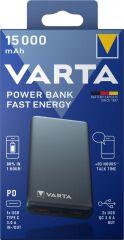 VARTA Batterie externe mobile Power Bank Fast Energy 15000
