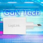 LogiLink Chargeur secteur USB, 1x USB-C, 60 watts, blanc