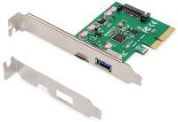DIGITUS Carte d'interface USB 3.1 PCI Express