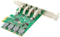 DIGITUS Carte add-on USB 3.0 PCI Express, 4 ports