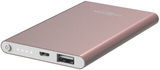 ANSMANN Batterie externe mobile, 4.000 mAh, rose