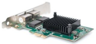 DIGITUS Carte PCI Express Dual Gigabit Ethernet, 2 ports