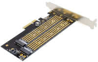 DIGITUS Carte Add-On M.2 NGFF/NVMe SSD PCI Express 3.0 (x4)