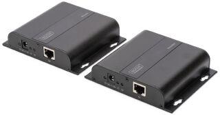 DIGITUS Kit amplificateur 4K HDMI via Cat / IP, noir