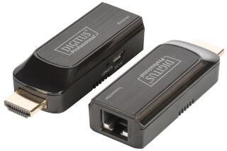 DIGITUS Kit de rallonge Mini HDMI, Full HD, 50 m