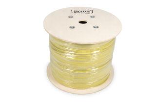 DIGITUS Câble d'installation, Cat.7A, S/FTP, PiMF 100 m
