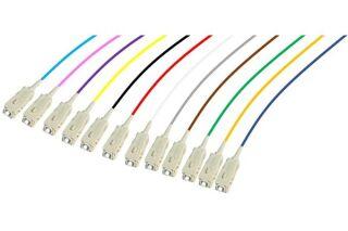 PIGTAIL OM4 SC/UPC LSOH 12 CONNECTEURS 2m