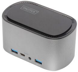 DIGITUS Station d'accueil USB-C avec boîtier pour disque SSD
