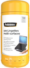 Fellowes Lingettes multi-surfaces, boîte distributrice x100