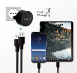LogiLink Chargeur secteur USB pour Fast Charging, 2x USB