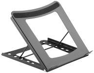 DIGITUS Support pour ordinateur portable, en acier, noir