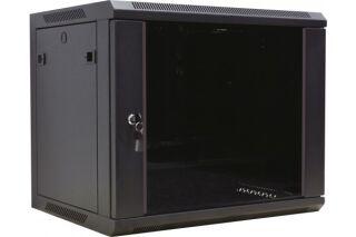 """Coffret WM-60 Extended 19"""" 6U profondeur 600 mm (noir) version kit"""