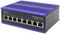 DIGITUS Commutateur industriel Gigabit, 8 ports, Unmanaged