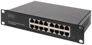 DIGITUS Commutateur 10' Gigabit, 16 ports, unmanaged