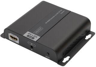 DIGITUS Extenseur 4K HDMI via CAT/IP (récepteur), PoE