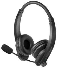 LogiLink Casque stéréo Bluetooth 5.0, noir